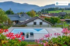Bazén 8x3,4x1,4m, Labientschach, Rakousko, realizace 2019