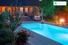Bazén 3,2x6x1,5m, Langendorf, Sasko-Anhaltsko, Německo, realilzace 2012