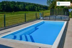 Bazén 5,9x3x1,4m, Heilsbronn, Bavorsko, Německo, realizace 2016